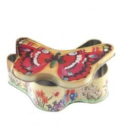 Embalagem metal borboleta