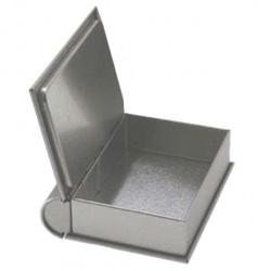 Embalagem metal tipo livro