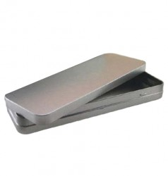 Embalagem metal retangular
