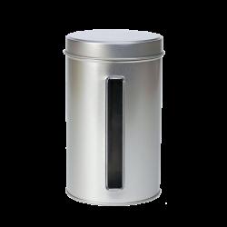 Caixa metal com janela vertical