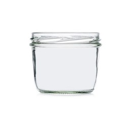 Frasco de vidro redondo 230ml