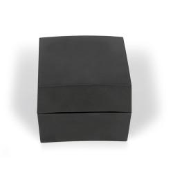 Caixa de plástico preta