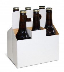 Embalagem para 6 cervejas