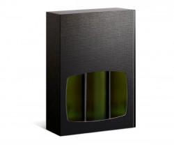 Caixa preta com janela