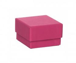 Caixa de cartão rosa escuro