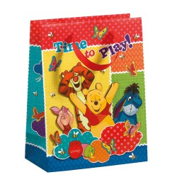 Saco com desenhos do Winnie the Pooh