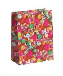 Saco de papel colorido