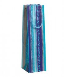 Saco colorido em tons de azul