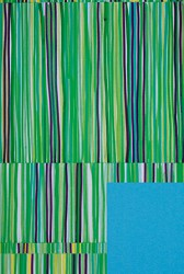 Papel de embrulho com padrão colorido