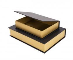 Caixa em forma de livro
